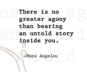quotes, story, and agony image