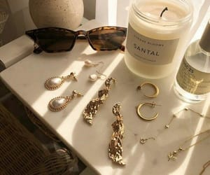 candle, fashion, and earrings image