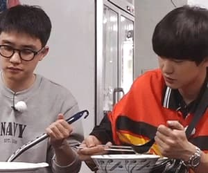 boys, Chen, and gif image