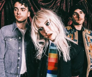 al, hayley williams, and paramore image