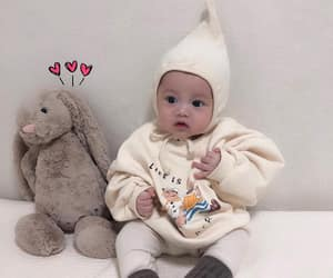 baby, face, and ulzzang image