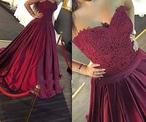 sweetheart prom dress, appliques prom dress, and satin evening dress image