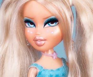 bratz, doll, and blue image