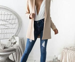 beige, jeans, and Nude image
