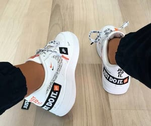 shoes, nike, and Just Do It image