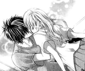 couple, kiss, and shoujo image