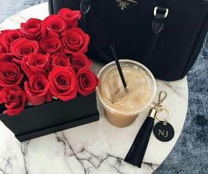 rose, Prada, and bag image