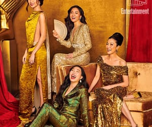 michelle yeoh, constance wu, and gemma chan image