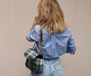 bag, blonde, and cool image