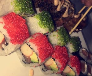 food, sushi, and instagram image