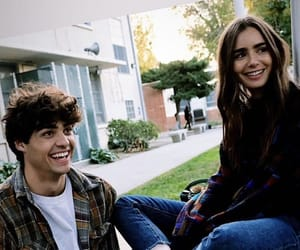 lily collins and noah centineo image