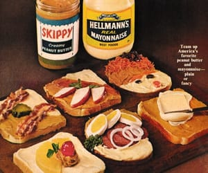 peanut butter, snacks, and spread image