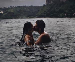 kiss, couple, and lové image