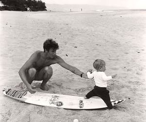 surf, beach, and baby image