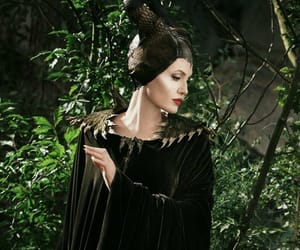 Angelina Jolie and maleficent image