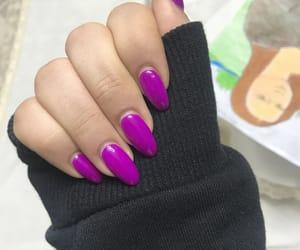 gel, nail, and nails image
