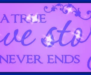 love quote, purple, and love image