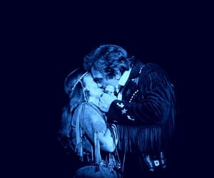blue, kiss, and june carter image