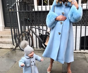 blue, clothes, and mom image