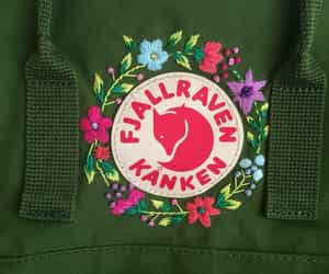 backpack, school, and embroidery image