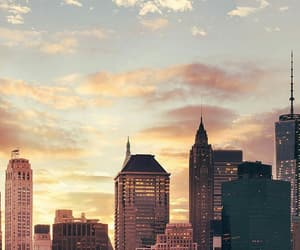city, sky, and wallpaper image