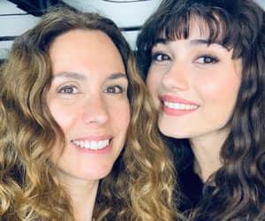 beautiful, big eyes, and curly hair image