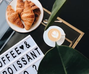 breakfast, cafe, and chic image