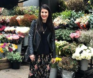 boho, flowers, and florist image