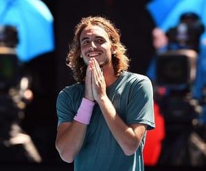 athlete, greek, and tennis image