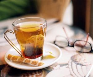 tea, vintage, and glasses image