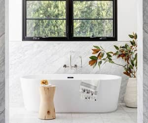 home, interior, and bath image