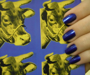 andy warhol, art, and blue image