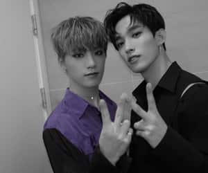 dino, DK, and Seventeen image