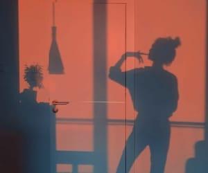 aesthetic, girl, and shadow image