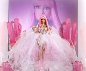 barbie, make up, and pink hair image