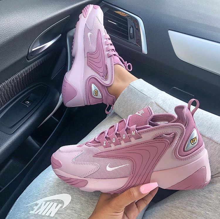 new images of reputable site 100% quality nike zoom 2k in pink 💗 @b/w sneakers favorites 👟👟👟