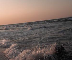 ocean, wallpaper, and waves image