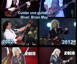 guitarra, Queen, and brian may image