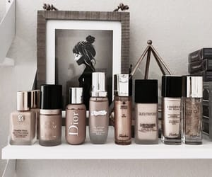 makeup, cosmetics, and beige image