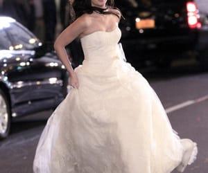 gossip girl, blair, and wedding image