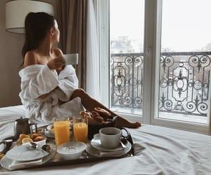breakfast, coffee, and paris image