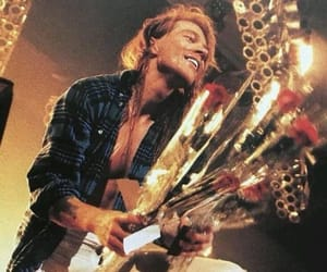 axl rose, glam rock, and music image