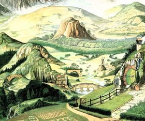 the hobbit and tolkien image