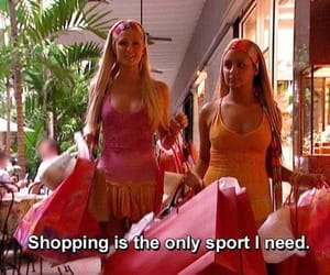 shopping, paris hilton, and sport image