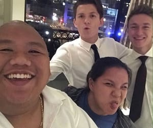 tom holland, spiderman, and actors image