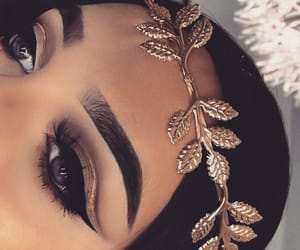 tumblr, girly style, and make up goals image