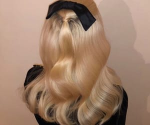 blonde, haircut, and hairstyle image