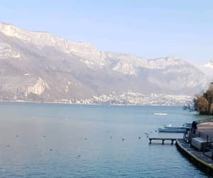 montagne, annecy, and lac image