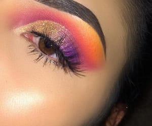 beauty, eyeshadow, and girls image
