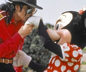 michael jackson, disney, and kiss image